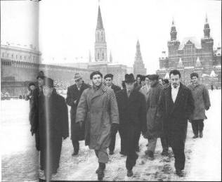 En Moscú.