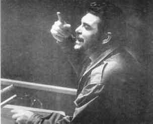 Che Guevara speaks at UN.