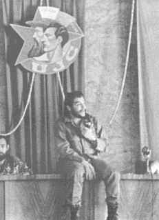 Taken in October 20th, 1972 during the second anniversary of the Comunist Youth Union. He was ironic even when seated.