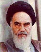 Ayatollah Ruhollah Kohmeini.